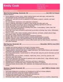 resume summary of qualifications for cmaa 16 free medical assistant resume templates