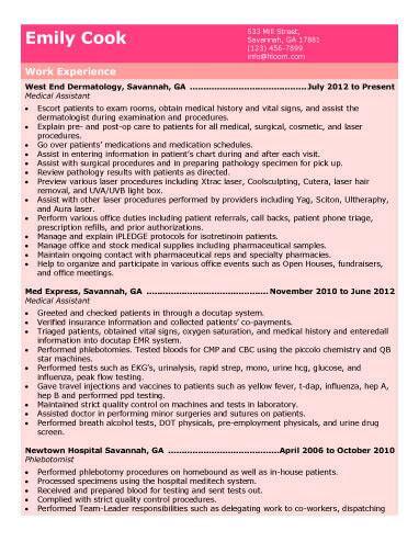 receptionist job description resume beautiful medical assistant job