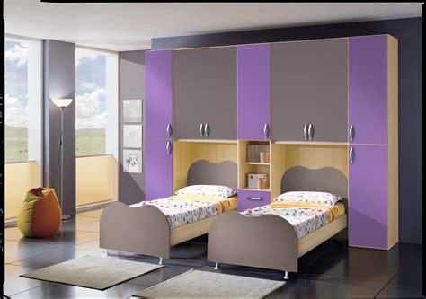camerette letto cameretta per ragazzi ponte doppio letto fiores mobili