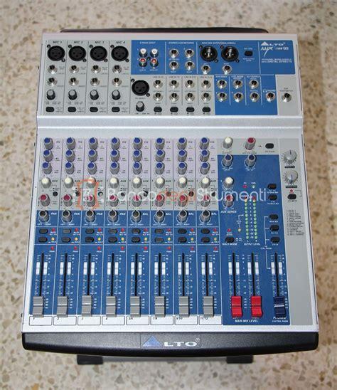 Mixer Alto Amx 140fx alto amx 180fx mixer digitale 18 canali con effetti