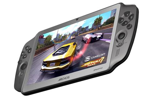 android gaming archos unveils android gaming tablet gamepad cnet