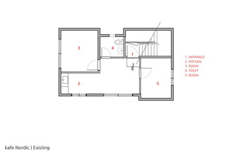 nordic house plans yellow house shaped facade fronts cafe by nordic bros design community kewrator beta