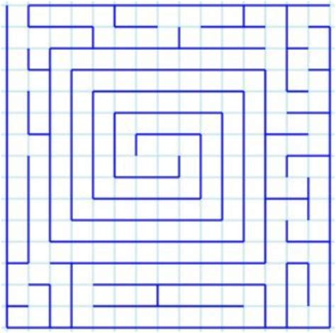 How To Make A Maze On Paper - how to make a maze