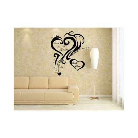 stickers for bedroom walls heart wall stickers for bedrooms heart shaped flower