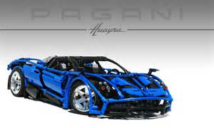 how to get a new set of car lego technic pagani huayra