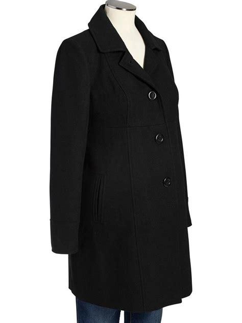 new year wool jacket navy maternity black wool coat winter jacket xs s