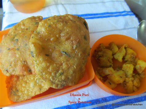 Dhania By Marghon dhania puri and spicy potato vegetable baby shower for
