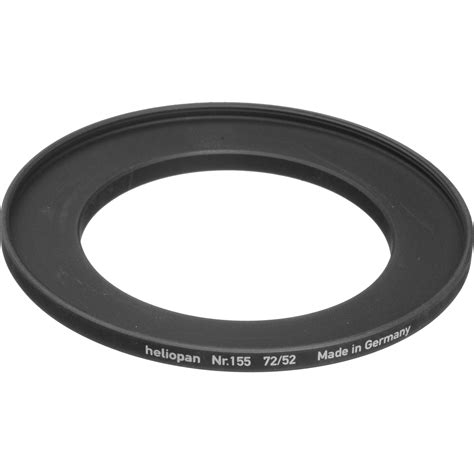 Step Up Ring 52 72 Mm heliopan 52 72mm step up ring 155 700155 b h photo