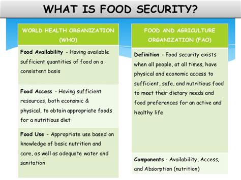 what is in food national food security bill 2013