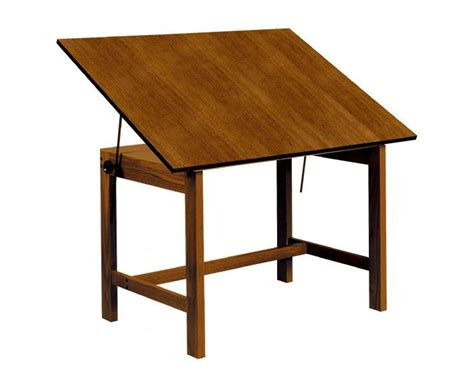 Alvin Titan Solid Oak Drafting Table Tiger Supplies Drafting Table L