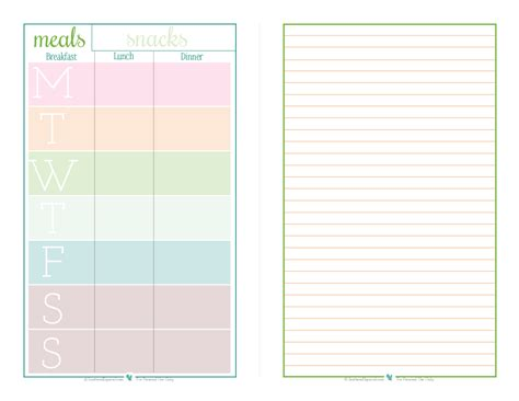 free printable planner half size january reader request collection scattered squirrel