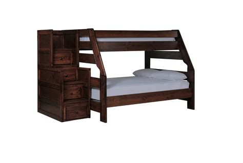 Living Spaces Bunk Beds Sedona Bunk Bed W Stair Chest Living Spaces