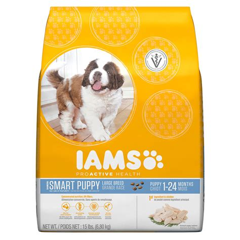 puppy food iams puppy food proactive health large breed petsolutions