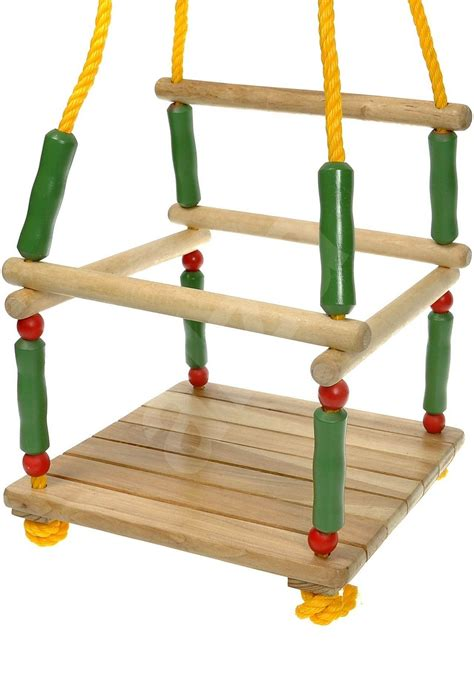 swinging toys woody wooden swing with rail swing toys