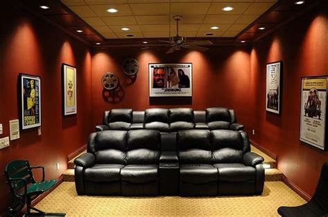 home theater rooms ideas  pinterest theater