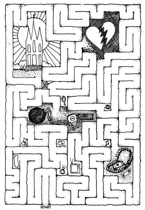 printable lds mazes temple marriage maze church stuff pinterest maze