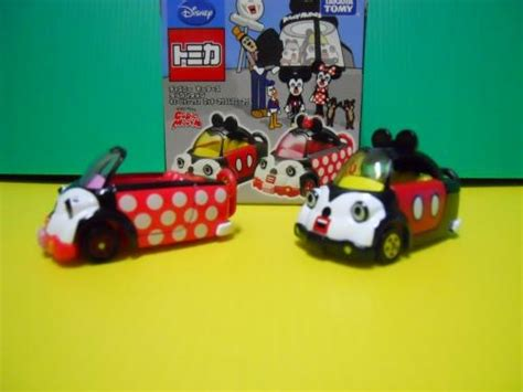 Tomica Mickey And Minnie Mouse Cubic Mouse Tap Set tomica disney cubic mickey minnie set dextersdc