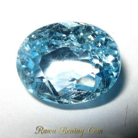 Batu Permata Topaz Sky diskon batu permata topaz sky blue oval cut 4 05 carat