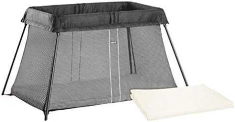 Baby Bjorn Travel Crib Sheet Babybjorn Travel Crib Light Black And Fitted Sheet Bundle Pack Baby Product In The Uae See