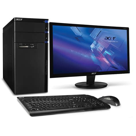 acer aspire am3400 b2082 desktop computer pv se002 007 b h photo