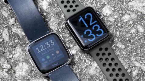 Fitbit Versa Vs Apple Series 4 by Apple Series 3 V Fitbit Versa Which Stylish Smartwatch Is Best