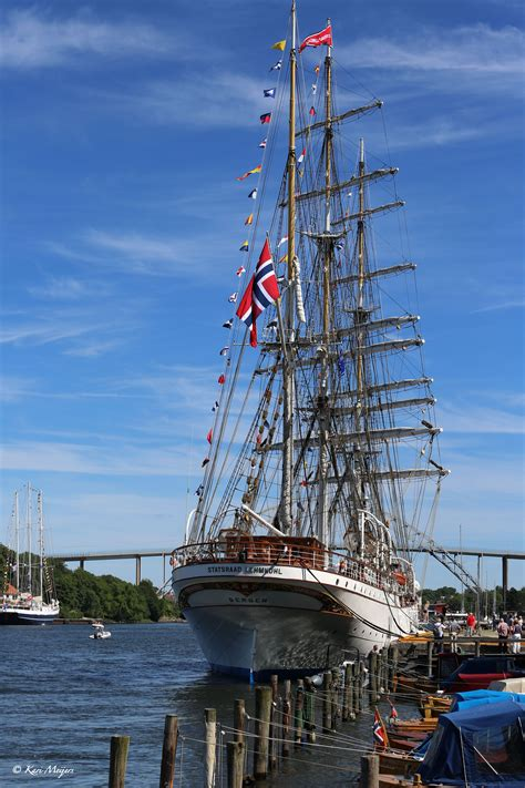 toy boat sails to norway statsraad lehmkuhl the tall ships race 2014