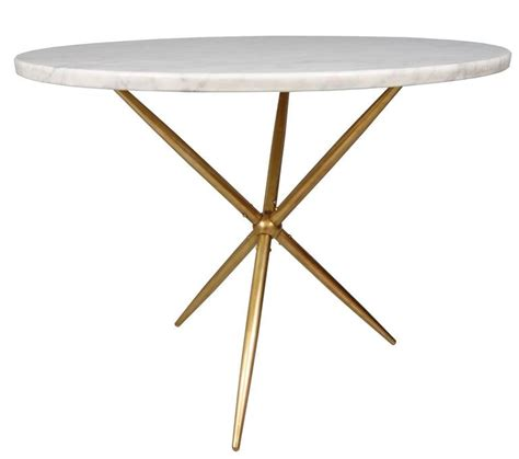 Marble Base Table L by Marble Side Table On A Brass Tripod Base At 1stdibs