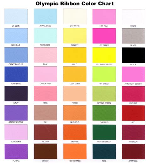 list of color 28 color name gallery for gt color names color