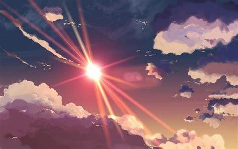 sky wallpaper hd tumblr tumblr sun sky clouds anime wallpaper anime