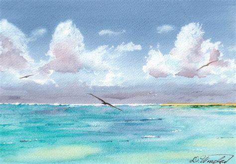 paint island seascape watercolor paintings by douglas winslow
