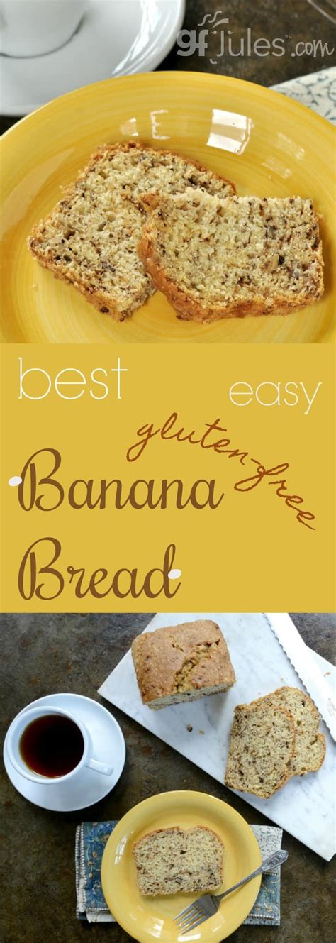 best gluten free bread recipe best easy gluten free banana bread gluten free recipes