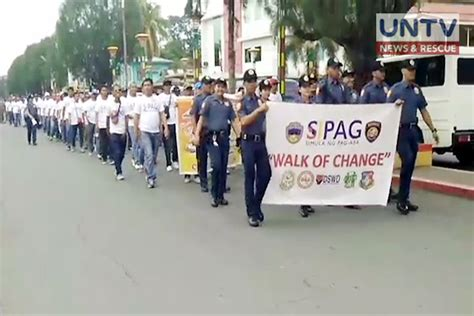 Detox Program In The Philippines by More Than 200 Surrenderees Graduates Of Sopag