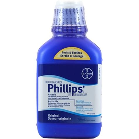 Phillips Milk Of Magnesia buy phillips milk of magnesia usp at well ca free
