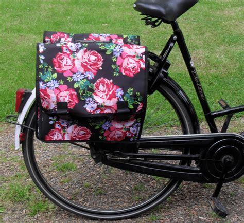 fiets bloemen hema fietstas van de hema kapot update nieuwe gekocht