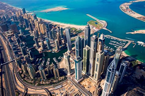 best towers in dubai marina pictures of dubai marina jlt from the sky what s on