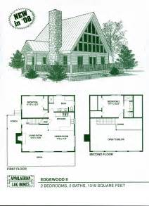 log home floor plans cabin kits appalachian homes two story designs house samples