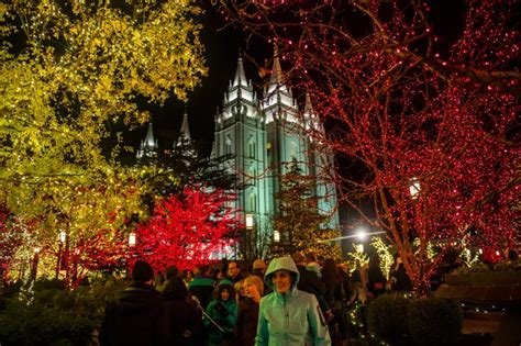 photos downtown salt lake city alight in holiday glow