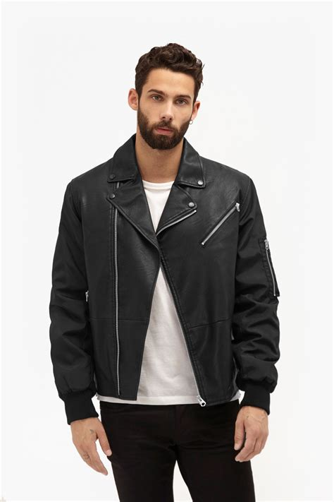 Indulge In This Autumns Must The Leather Jacket At Miss Selfridge Dorothy Perkins by Free Wheeler Faux Leather Jacket Mens Sale