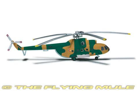 Diecast Metal Helicopter 595 A 34 mi 8t hip c 1 200 diecast model herpa he 557658 50 95