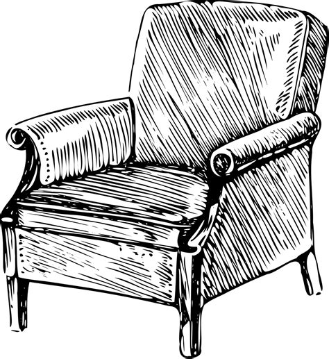 how to draw a armchair armchair wiktionary