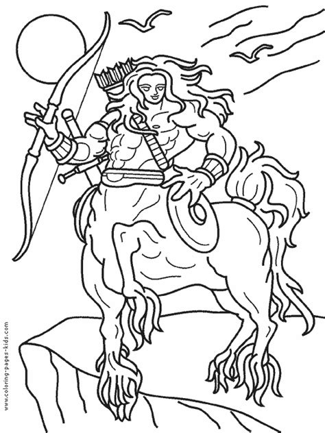 centaur girl coloring page centaur color page coloring pages for kids fantasy