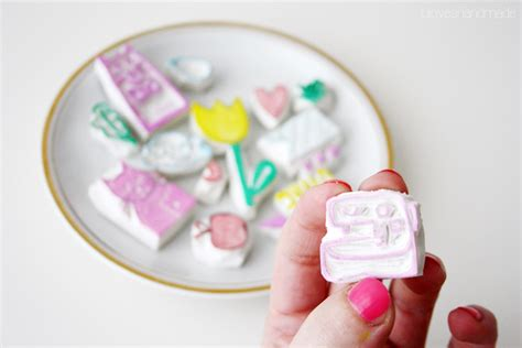 Stempel Lu a new series of handmade rubber sts luloveshandmade