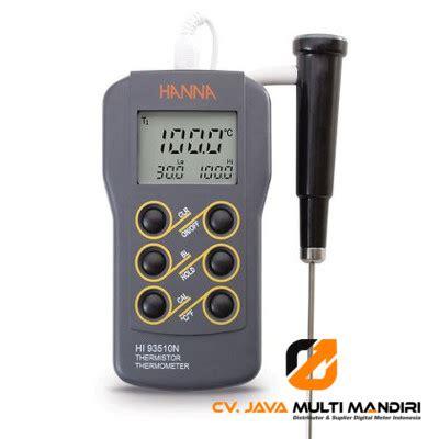 Termometer Lapangan termometer instrument hi93510n alat ukur indonesia