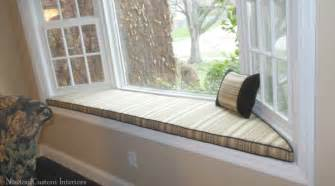 Bay Window Seat Cushions Bay Window Seat Cushion Newton Custom Interiors