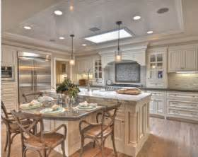 Kitchen Island With Built In Table by Kitchen Table Island Combo Kitchen Pinterest