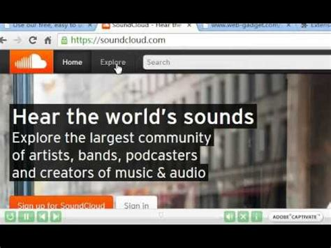 download mp3 from soundcloud hq how to download soundcloud stream mp3 on chrome and