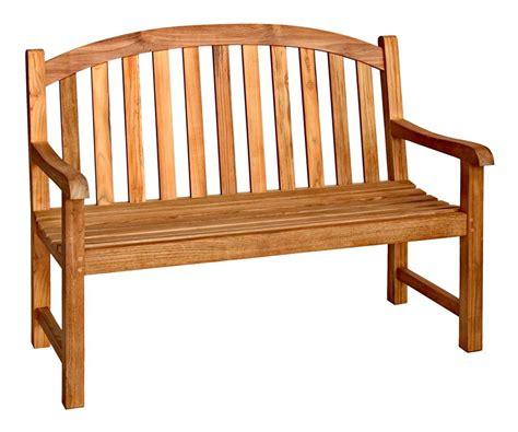 curved teak bench 4 ft curved back teak bench