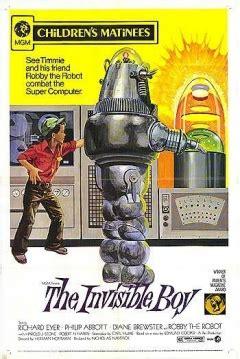 libro the invisible boy pel 237 cula el ni 241 o invisible 1957 the invisible boy el chico invisible el muchacho