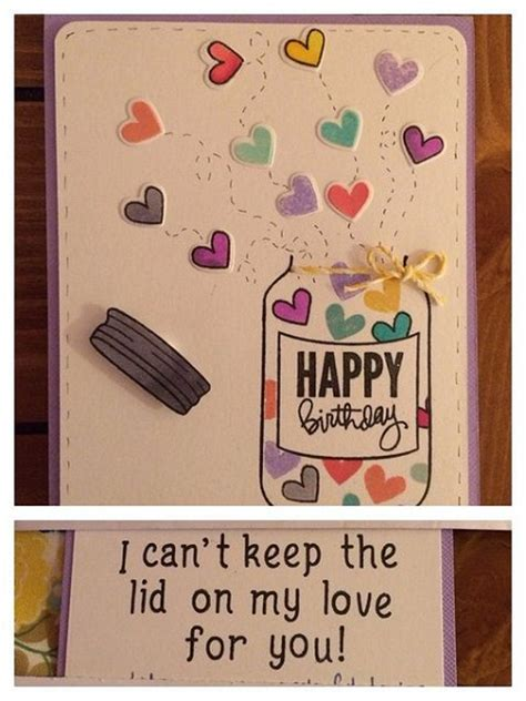 Birthday Cards Template Pintrest by Handmade Birthday Cards Pink Lover