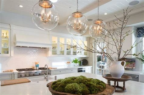 kitchen island pendant kelly nutt design kitchens regina andrew large globe pendant plank ceiling plank kitchen